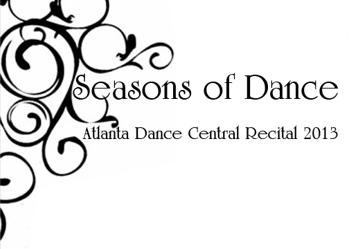 Atlanta Dance Central Presents Seasons of Dance!