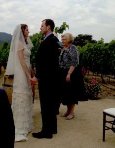 Charlotte & Jeremy's ceremony.