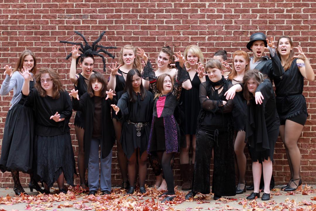 ADC Dancers Performing in Frankenstein's Frolic